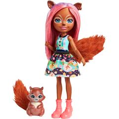Enchantimals Papusa SANCHA SQUIRREL