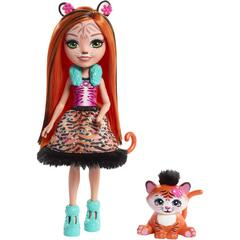 Mattel Enchantimals Papusa TANZIE TIGER