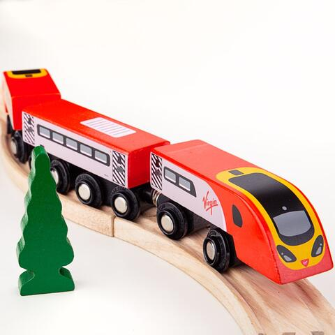 BigJigs Trenulet  - Virgin Pendolino
