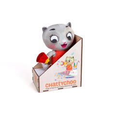 Chalk and Chuckles Pisicuta cu surprize - Chatty Choo