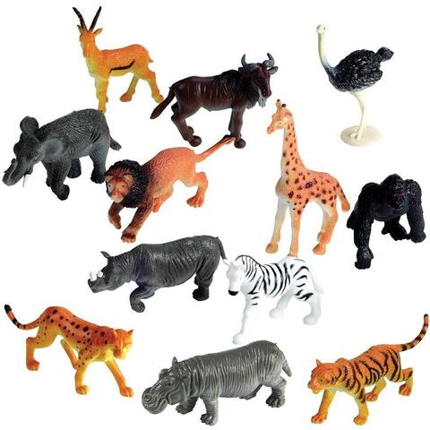 Learning Resources Set pentru sortat - Animalute din jungla