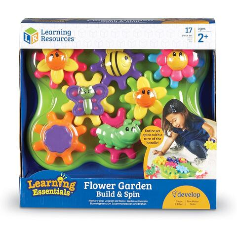 Learning Resources Set rotite  - Gradina cu flori