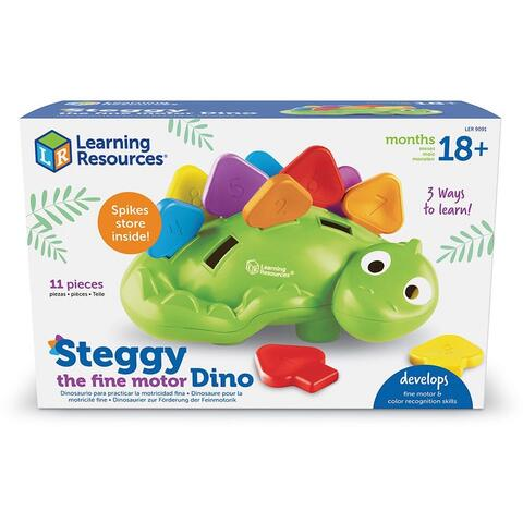 Learning Resources Joc de potrivire - Dinozaurul Steggy