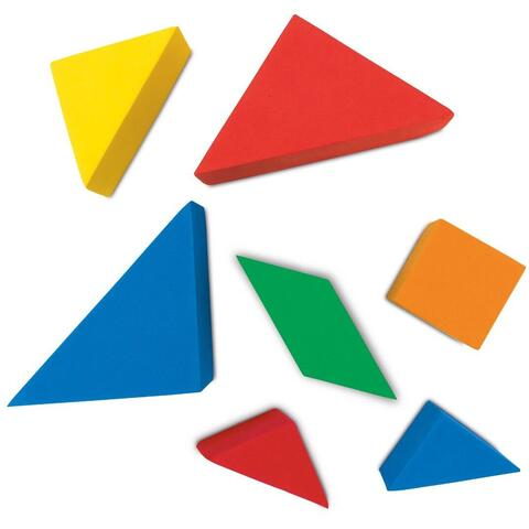 Learning Resources Set creativ - Tangram
