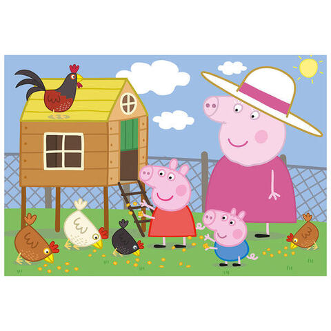 Dino Puzzle - Peppa Pig - Puisorii (24 piese)