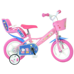 Bicicleta copii 12'' - Purcelusa Peppa
