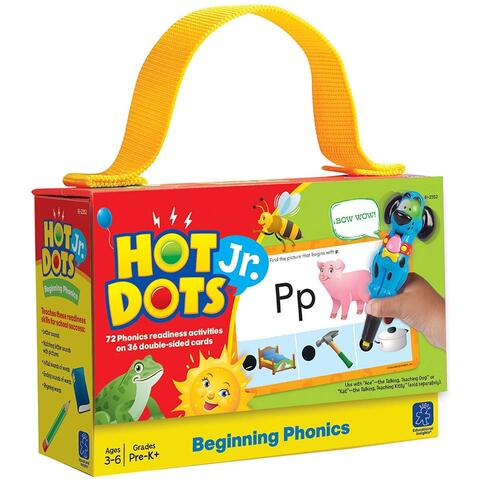Educational Insights Carduri Hot Dots® - Fonetica pentru incepatori