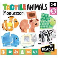 Headu Puzzle Montessori - Animale senzoriale