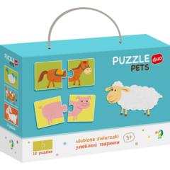 Duo Puzzle - Ferma (2 piese)