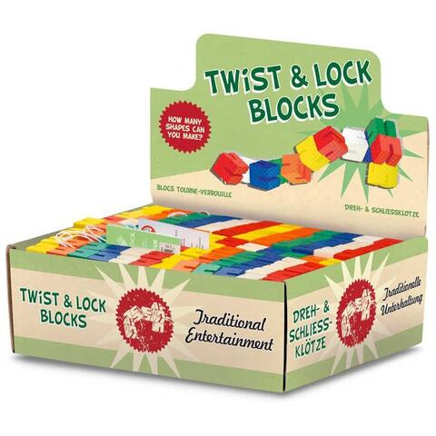 TOBAR Twist Blocks din lemn