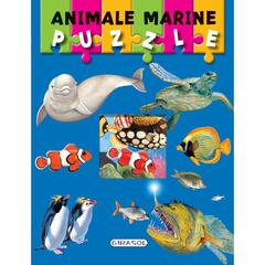 Carte puzzle - animale marine