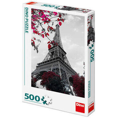 Dino Toys Puzzle - Turnul Eiffel (500 piese)