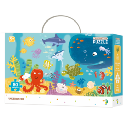 Puzzle - Animalute marine (80 piese)