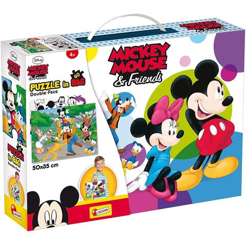 LISCIANI Puzzle Mickey Mouse (60 piese)