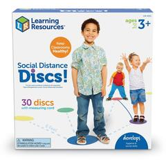 Learning Resources Discuri colorate  - Distantare sociala
