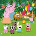 Dino Puzzle 3 in 1 - Purcelusa Peppa in vacanta (55 piese)