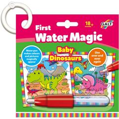Galt Prima mea carticica Water Magic - Micutii dinozauri