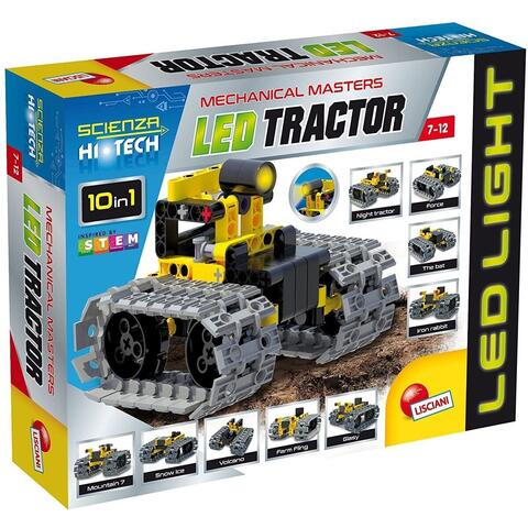 LISCIANI Set STEM 10 in 1 - Tractor cu LED