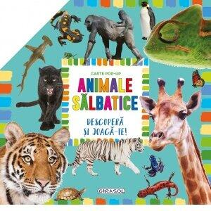 GIRASOL Carte pop-up - animale salbatice