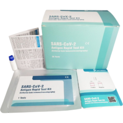 Test rapid antigen COVID-19 (Colloidal Gold Immunochromatography) - set 25 buc
