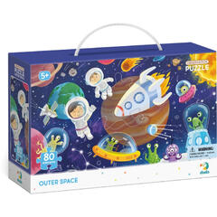 Dodo Puzzle - Spatiul cosmic ( 80 piese)