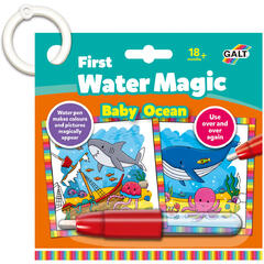 Baby Water Magic: Carte de colorat In ocean