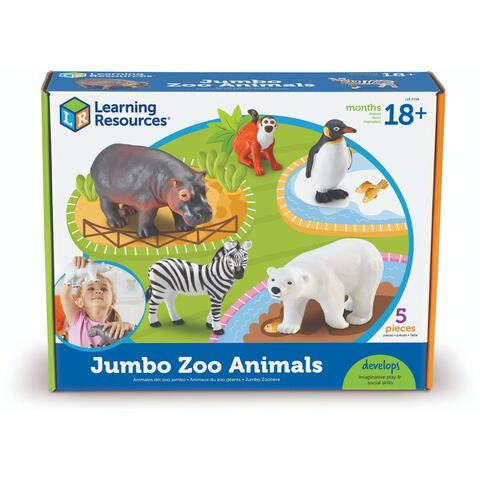 Learning Resources Joc de rol - Animalute de la Zoo