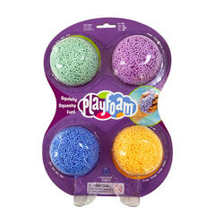 Educational Insights Spuma de modelat Playfoam™ - Set 4 culori