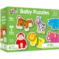 Galt Baby Puzzle: Animale din jungla (2 piese)