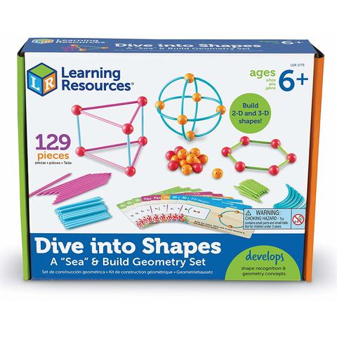 Learning Resources Set constructie - Forme 3D