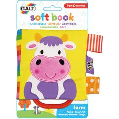 Galt Soft Book: Carticica moale Farm