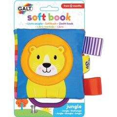 Galt Soft Book: Carticica moale Jungle
