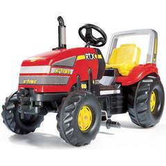 Rolly Toys Tractor cu pedale X-Trac Rosu