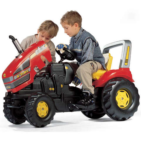 Rolly Toys Tractor cu pedale Rolly X-Trac King