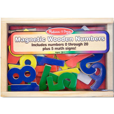 Melissa&Doug Cifre Magnetice (37 piese)