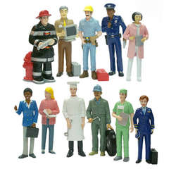 Set figurine 11 profesii