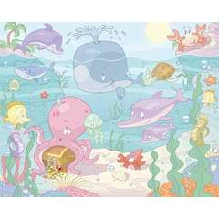 Tapet pentru Copii Baby Under the Sea