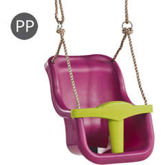 Leagan Baby Seat Luxe Culoare: purple (RAL4006)/lime green