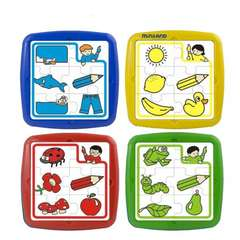 Set de 4 puzzle educative