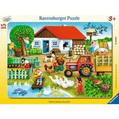 Puzzle Unde sa il asez, 15 piese
