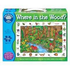 Orchard Toys Puzzle in limba engleza In padure (150 piese)