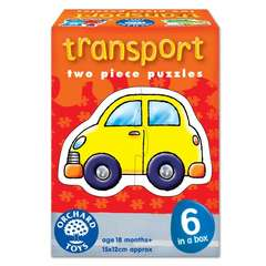 Orchard Toys Set 6 puzzle Transport (2 piese)