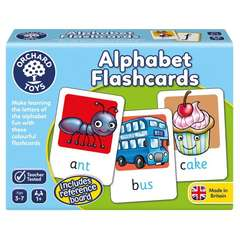 Joc educativ in limba engleza - ALPHABET FLASHCARDS