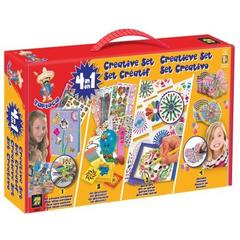 TPK/SET CREATIE 4 IN 1 - MAXITOYS