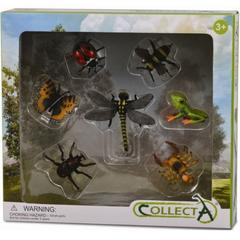 Set 7 figurine insecte Collecta