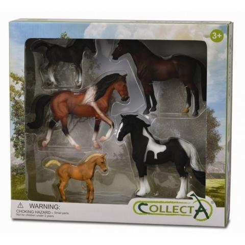 Set 5 figurine viata cailor Collecta
