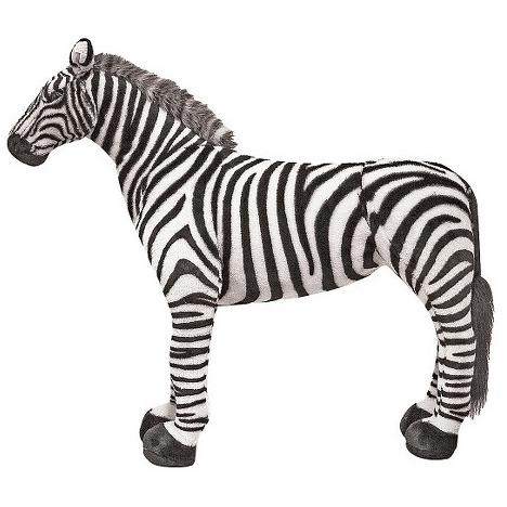 Melissa&Doug Zebra gigant din plus Melissa and Doug