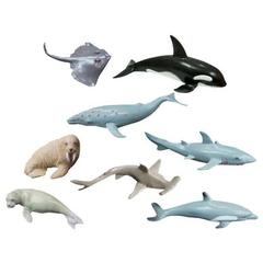 Animale marine set de 8 figurine - Miniland