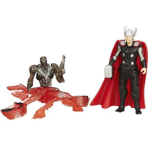 Hasbro Mini Figurine Avengers - Thor vs Sub Ultron 005