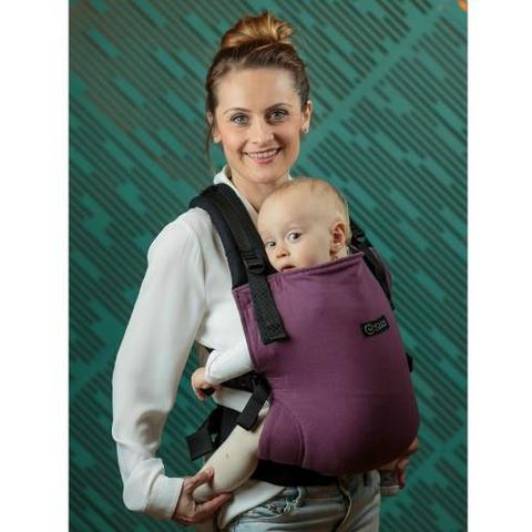 Isara Marsupiu Toddler Half Wrap Conversion Burgundivine